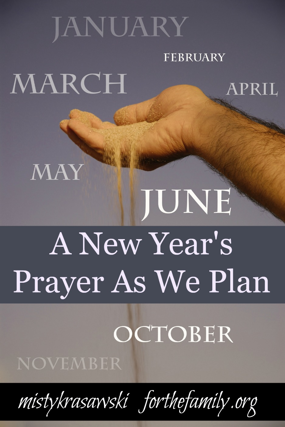A New Year s Prayer As We Plan   for the family A New Year s Prayer As We Plan