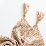 Modern Easy Chunky Crochet Throw Free Pattern For The Frills