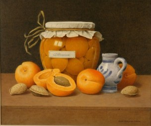 Apricot Preserves by John Bergwyn Green