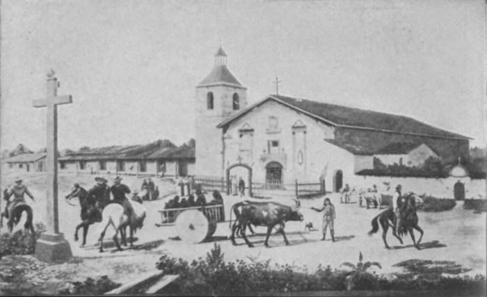 Mission Santa Clara, 1849