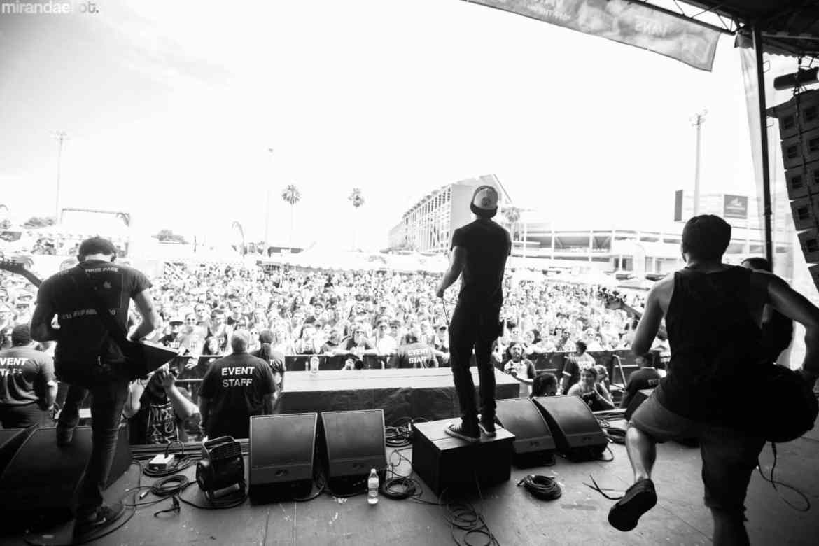 Felicity at Warped Tour 2016