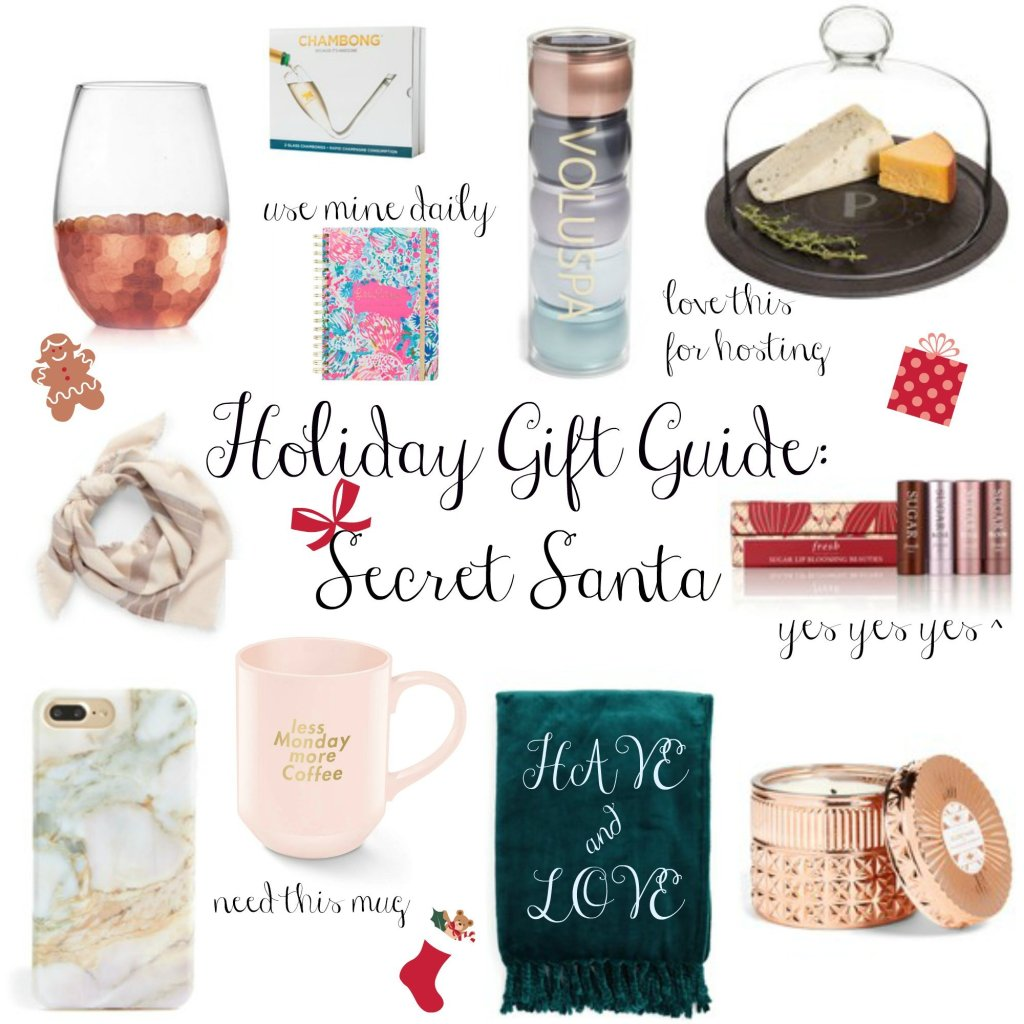 Holiday Gift Guide: Secret Santa