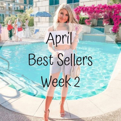 April Best Sellers – Week 2