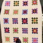 granny square quilt, scrap quilt