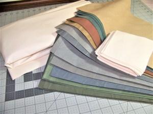 churn dash quilt, paper piecing