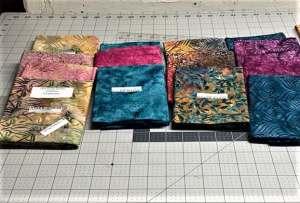 island batik fabric for medallion quilt