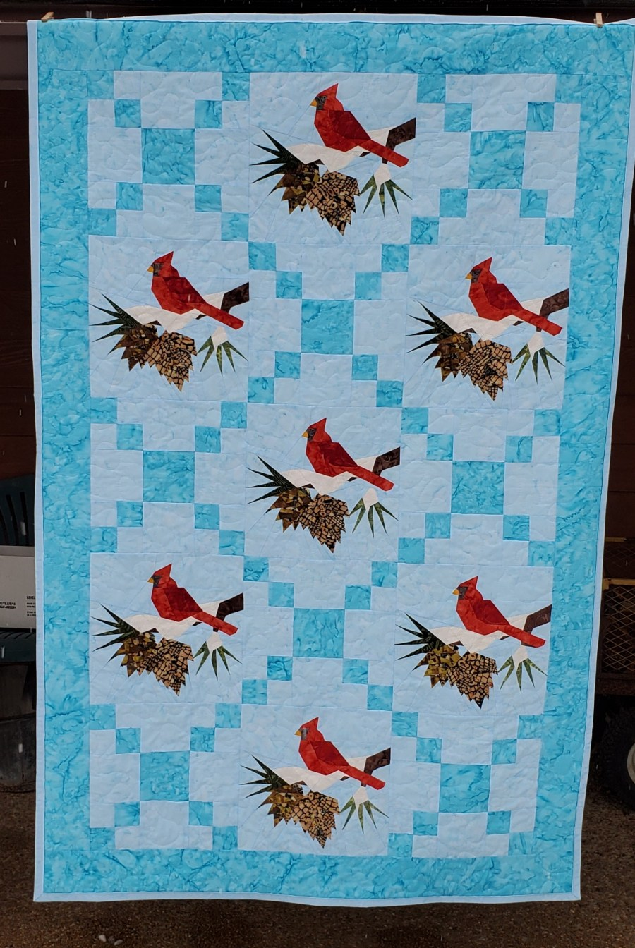 cardinal quilt