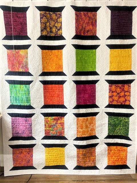 patchwork sppol quilt