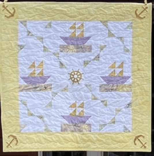 patchwork quilt block