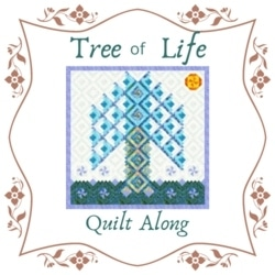 quilt along, tree of life quilt, log cabin quilt, log cabin tree of life quilt