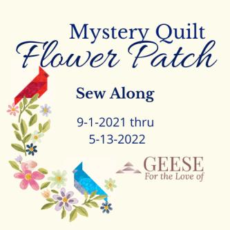 flower patch sew along logo