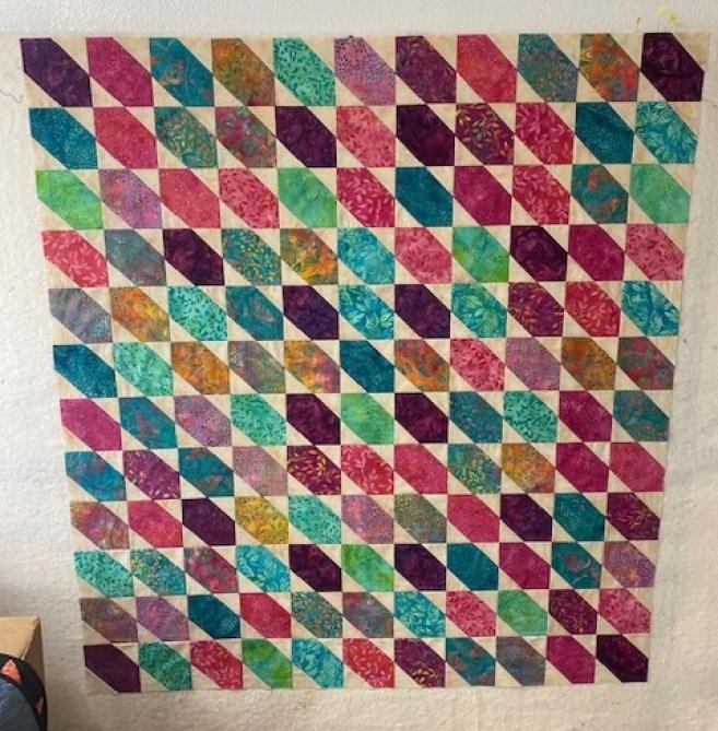hexie type star quilt