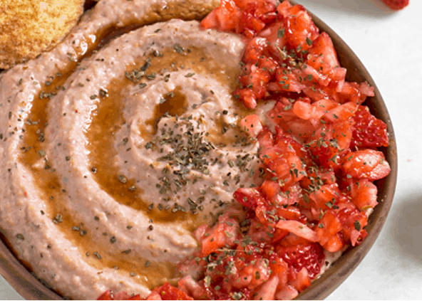 Strawberry Hummus Recipe