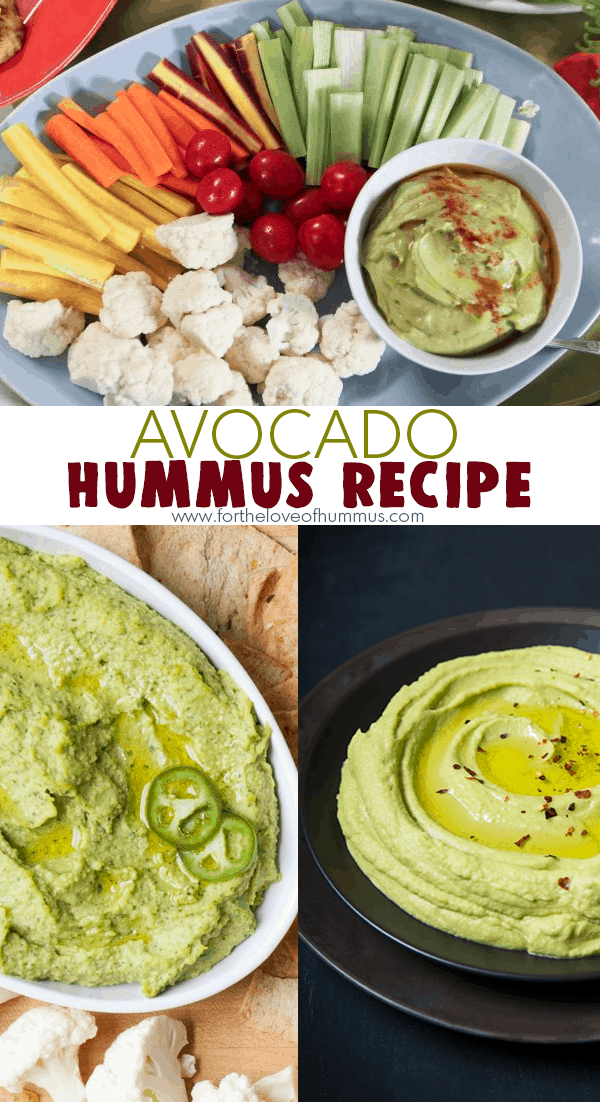 Avocado-Hummus recipe
