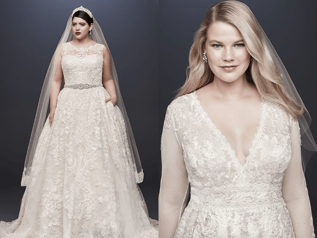 15 Plus Size Wedding Dresses Simple