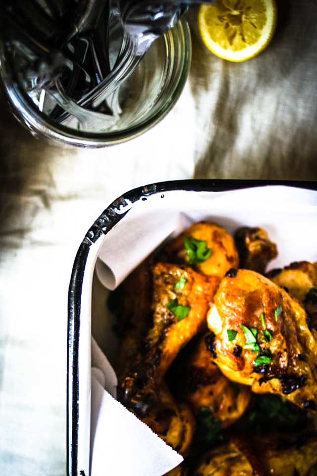 Roasted Chicken Legs | for the love of the south