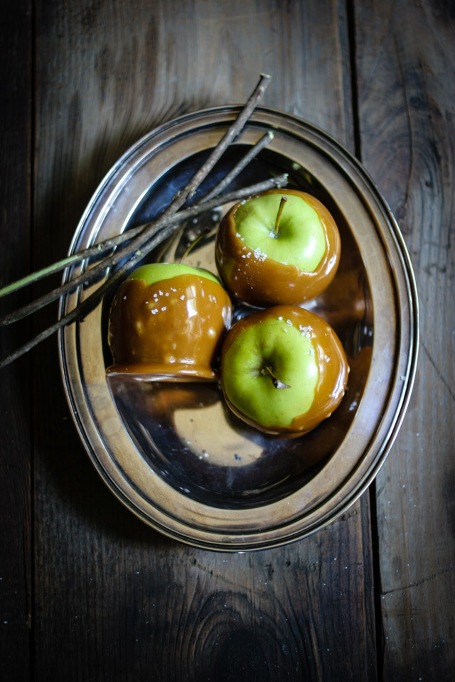 Salted Caramel Apples | for the love of the south