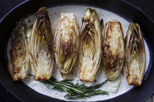 Buttery Braised Belgian Endive | for the love of the south