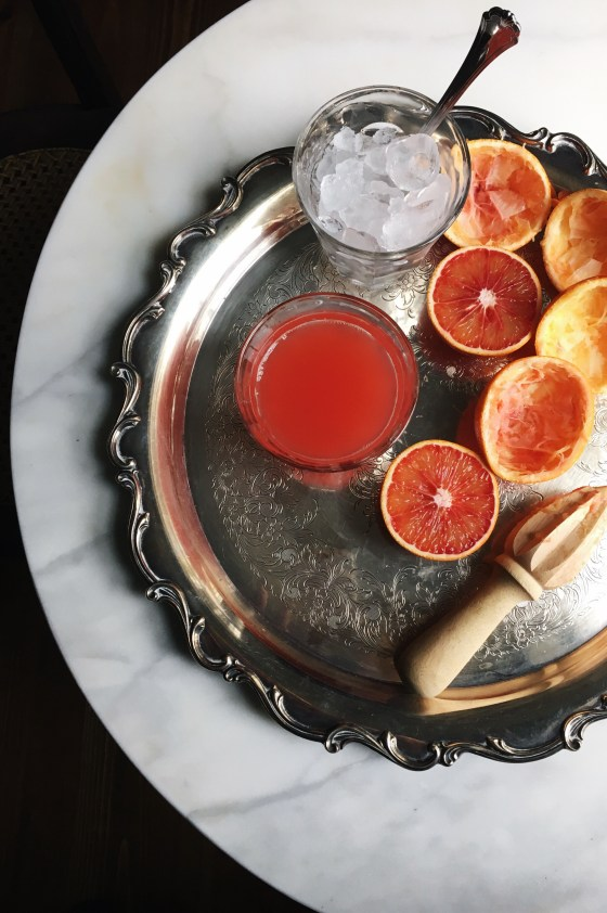 Blood Orange Juice | for the love of the south