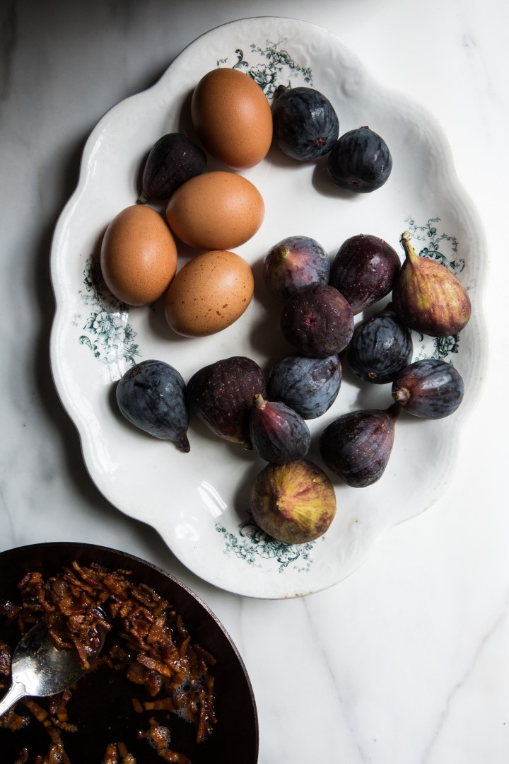 Fresh Figs & Bacon | for the love of the south