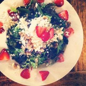 Strawberry Fields Forever Salad | Puckett's in Downtown Franklin