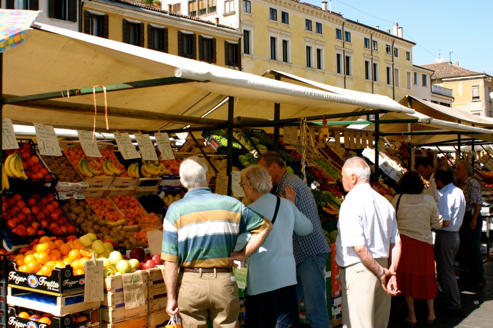 Open Air Market
