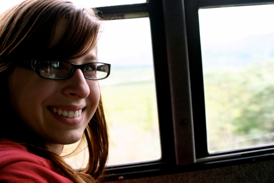 Me on the Denali Wilderness Tour Bus