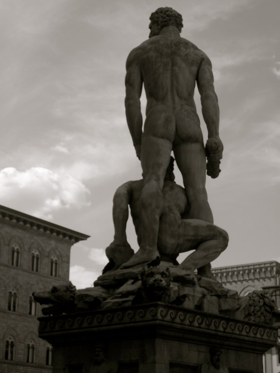 Hercules and Cacus in Piazza della Signoria