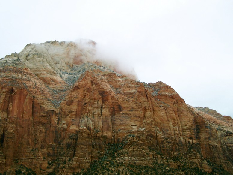 Clouds Rolling in in Zion NP