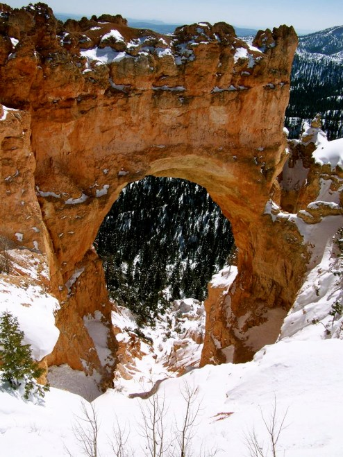 Natural Bridge in Bryce Canyon NP