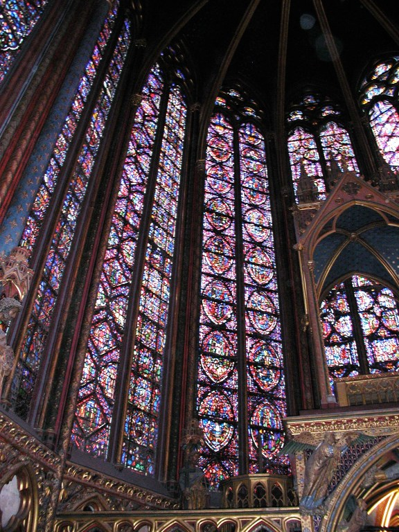So much stained glass!