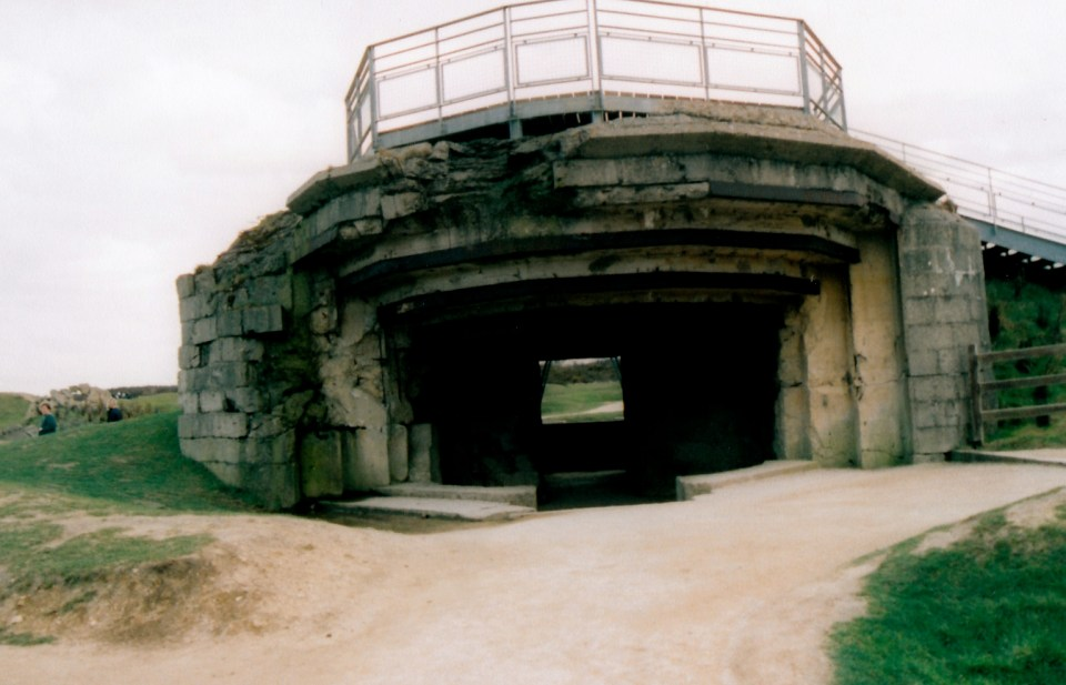 German Bunker Remains.