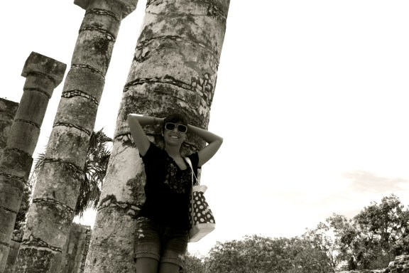 me at Chichen Itza