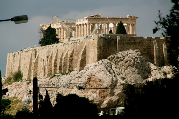 Acropolis Basking in the Sunlight