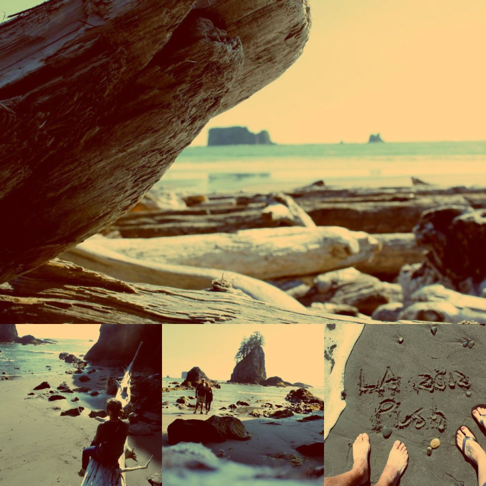 La Push collage