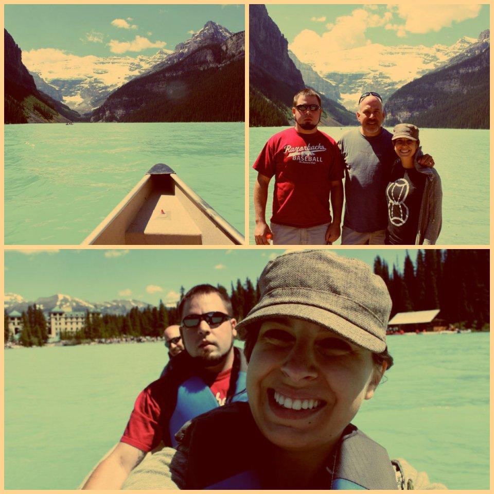 Lake Louise collage