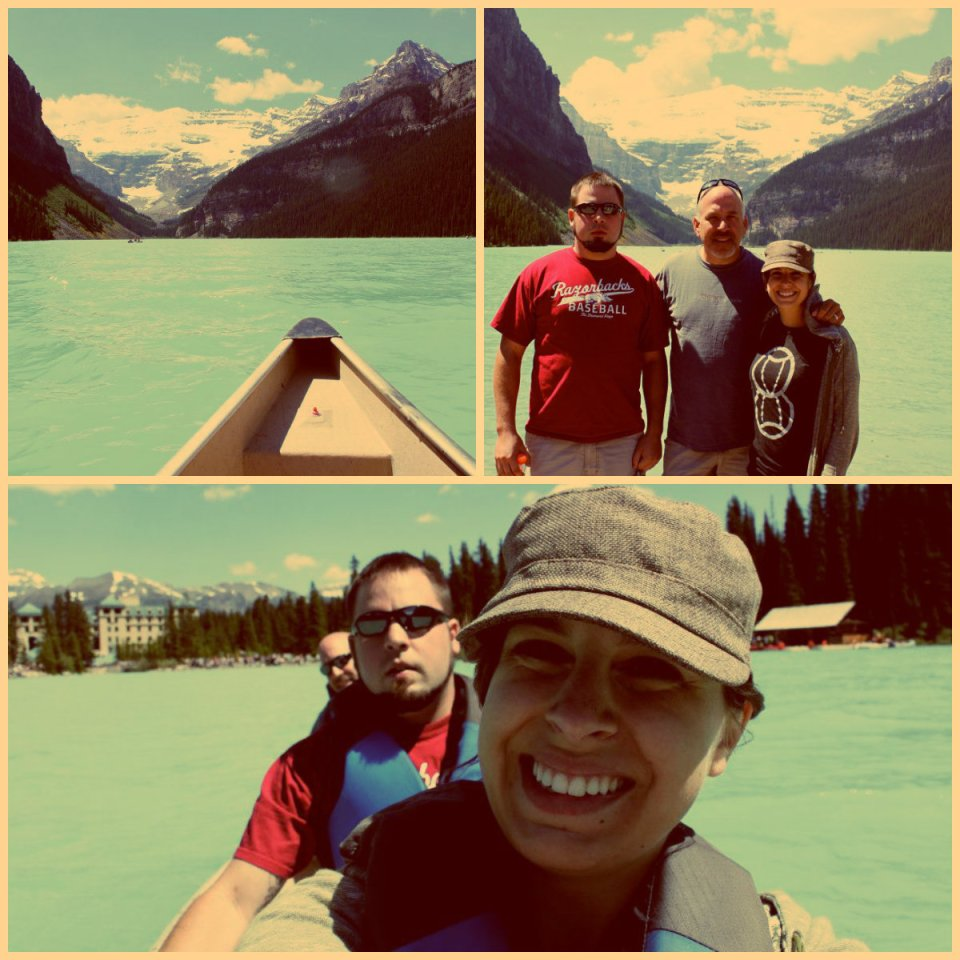 Lake Louise collage