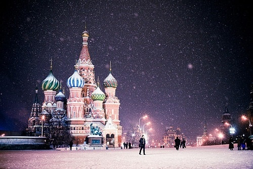 Snow Moscow