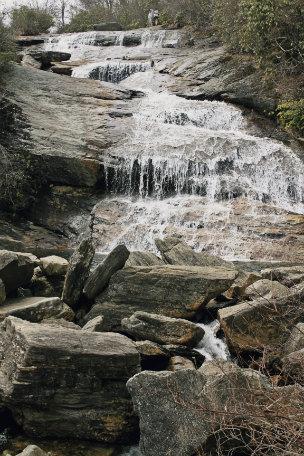 Graveyard Fields Lower Falls