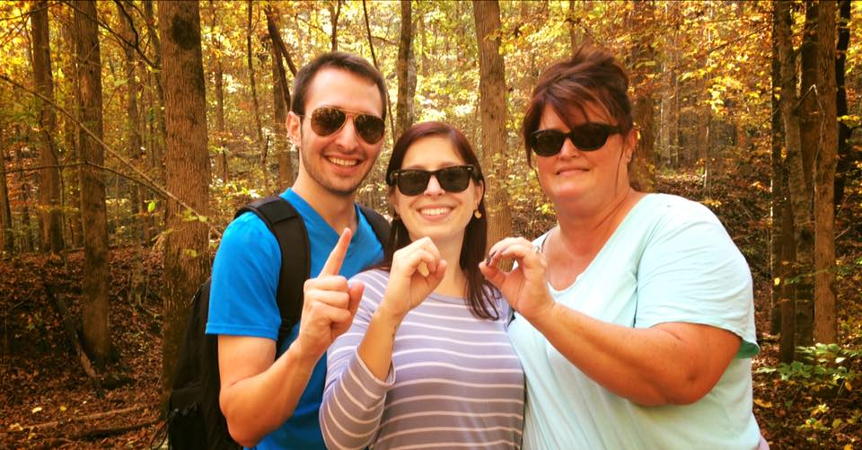 Hiking Arkansas