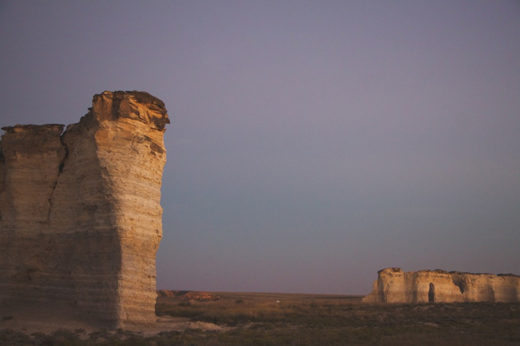 Monument Rocks Kansas