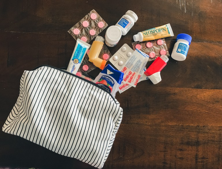 What I Pack in My Travel First Aid Kit - For the Love of Wanderlust