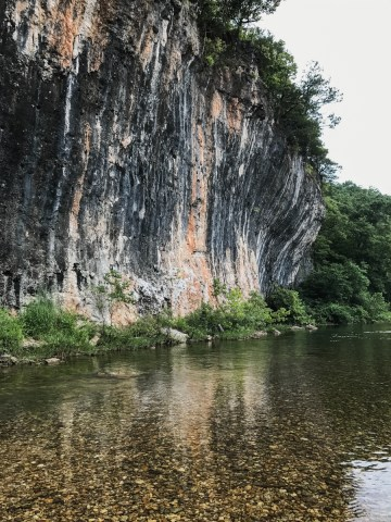 Ozark National Scenic Riverways - Echo Bluff State Park