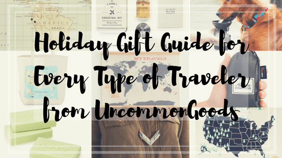 Holiday Gift Guide for Every Type of Traveler from UncommonGoods