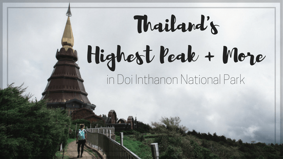 Standing on Thailand's Tallest Peak + More in Doi Inthanon National Park