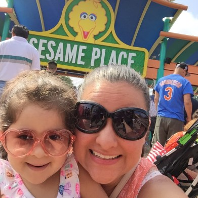 Sesame Place.... Dani's search for Cookie Monster