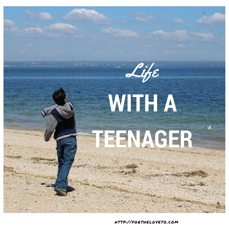 Life With A Teenager