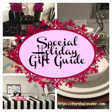 Special Holiday Gift Guide / #GiftIdeas #MTHoliday