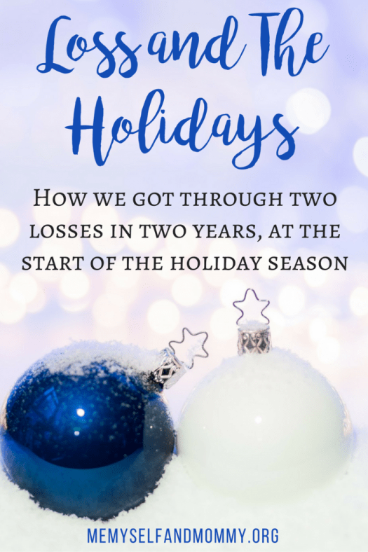 loss-and-the-holidays feature post on #Alittlebitofeverything