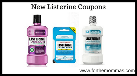 New Listerine Coupons Worth 3 00 Ftm
